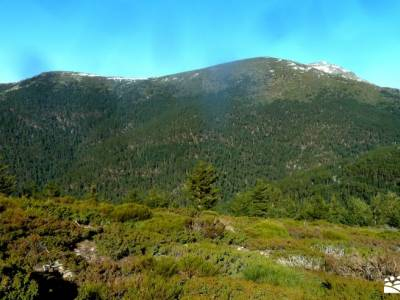 Loma del Noruego y Pinares de Valsaín;valle del jerte cerezos rutas por madrid a pie viajes puente